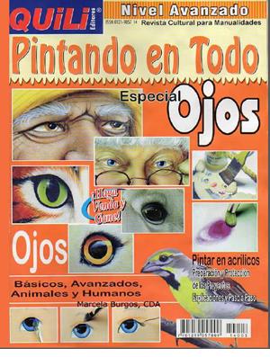 revista pintar ojos