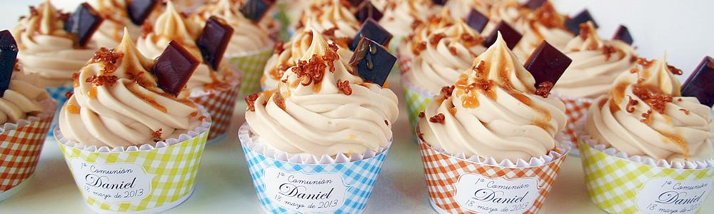 cupcakes de caramelo banner