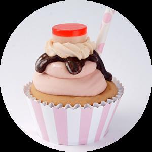 cupcake soap trasnparente