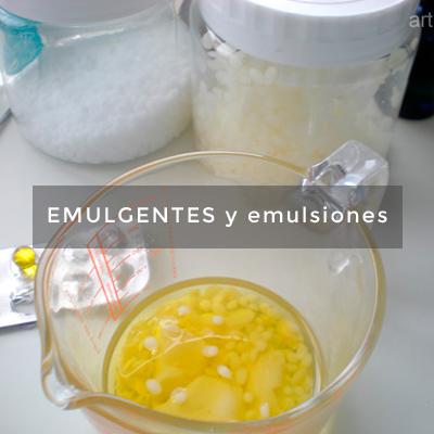 emulgentes y emulsiones