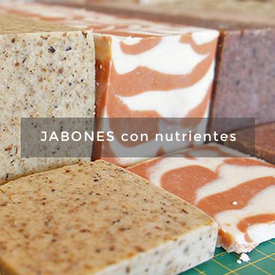jabones con nutrientes