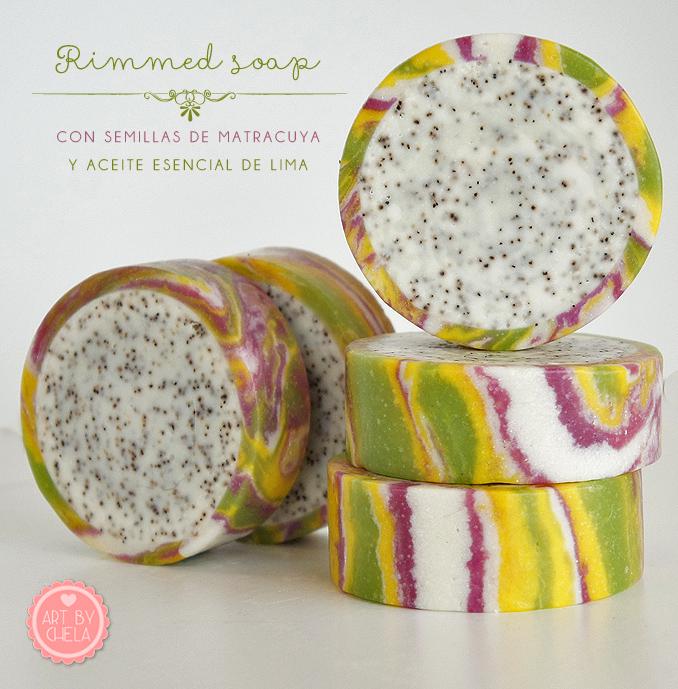 jabón rimmed soap