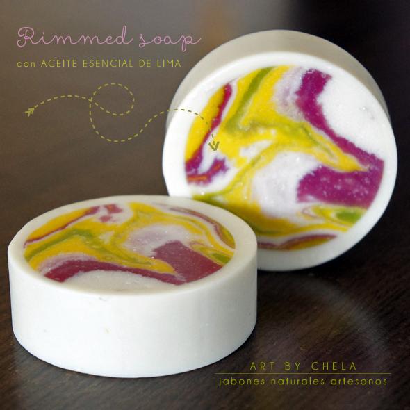 rimmed soap