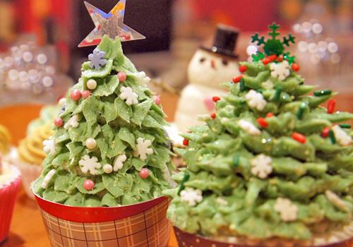 cupcake soap navideños